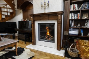 Wooden Fireplace Surrounds - A 135