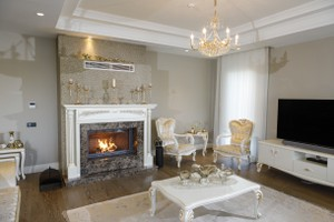 Wooden Fireplace Surrounds - A 136 A