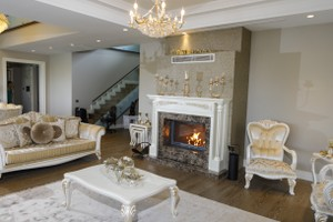 Wooden Fireplace Surrounds - A 136 B