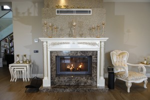 Wooden Fireplace Surrounds - A 136