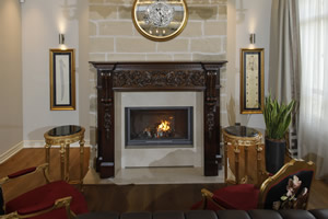 Wooden Fireplace Surrounds - A 137 A