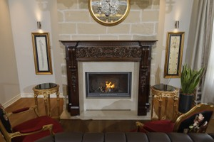 Wooden Fireplace Surrounds - A 137