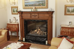 Wooden Fireplace Surrounds - A 138 A