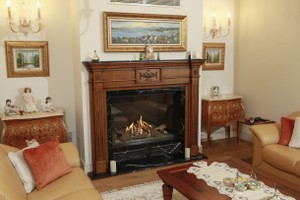 Wooden Fireplace Surrounds - A 138 B