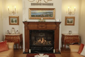 Wooden Fireplace Surrounds - A 138