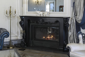 Wooden Fireplace Surrounds - A 139 B