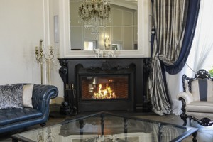 Wooden Fireplace Surrounds - A 139 E