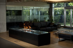 Hursan Ethanol Fireplaces - BE 107 A