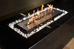 Hursan Ethanol Fireplaces - BE 107 D