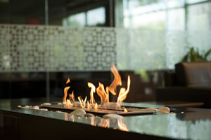 Hursan Ethanol Fireplaces - BE 107 E