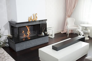 Hursan Ethanol Fireplaces - BE 111 C