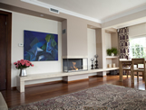 Hursan Ethanol Fireplaces - BE 117 B