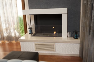 Hursan Ethanol Fireplaces - BE 126