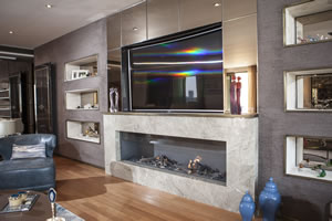Hursan Ethanol Fireplaces - BE 137 A