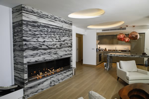Hursan Ethanol Fireplaces - BE 139 B