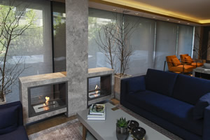 Hursan Ethanol Fireplaces - BE 151 A