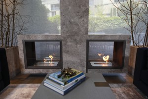 Hursan Ethanol Fireplaces - BE 151