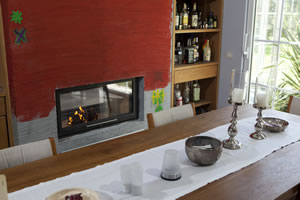 Double-Sided Fireplace Surrounds - CT 106 A