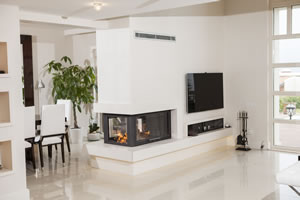 Double-Sided Fireplace Surrounds - CT 109 B
