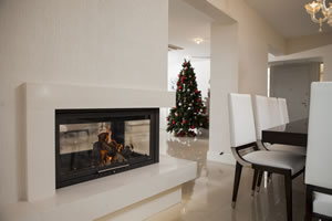 Double-Sided Fireplace Surrounds - CT 109 D