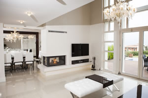 Double-Sided Fireplace Surrounds - CT 109