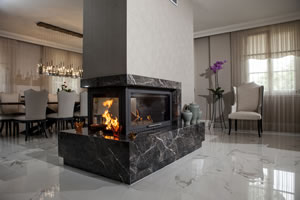 Double-Sided Fireplace Surrounds - CT 110 B