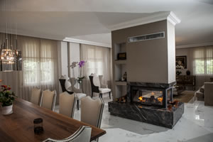 Double-Sided Fireplace Surrounds - CT 110