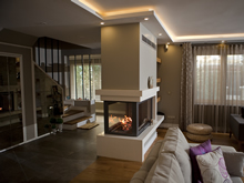 Double-Sided Fireplace Surrounds - CT 111 B