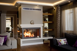 Double-Sided Fireplace Surrounds - CT 111
