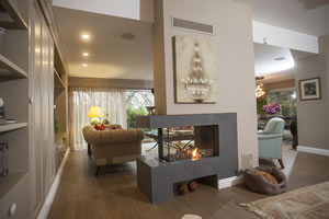 Double-Sided Fireplace Surrounds - CT 112 A