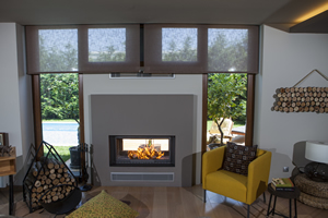 Double-Sided Fireplace Surrounds - CT 114 A