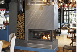 Double-Sided Fireplace Surrounds - CT 115 A