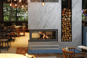 Double-Sided Fireplace Surrounds - CT 115