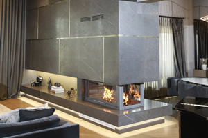 Double-Sided Fireplace Surrounds - CT 117