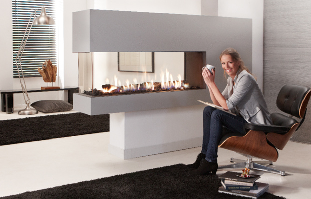Natural Gas Fireplaces - DG 108