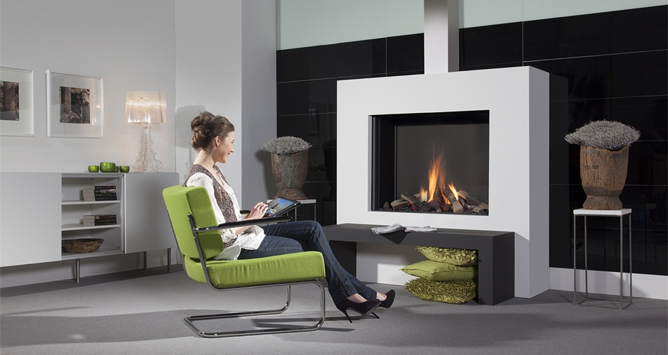 Natural Gas Fireplaces - DG 110