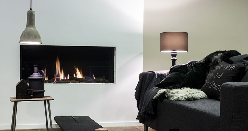 Natural Gas Fireplaces - DG 135