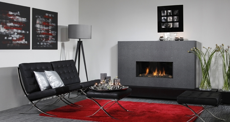 Natural Gas Fireplaces - DG 136