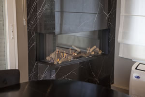 Natural Gas Fireplaces - DG 154 A
