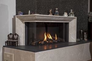 Natural Gas Fireplaces - DG 155 B