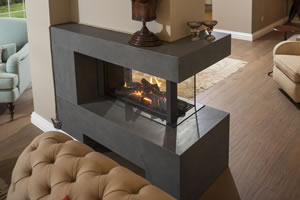Natural Gas Fireplaces - DG 156 B