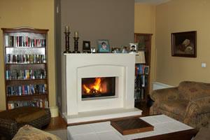 Demi-Classic Fireplace Surrounds - DK 117 B