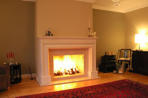 Demi-Classic Fireplace Surrounds - DK 124