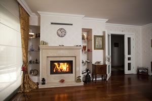 Demi-Classic Fireplace Surrounds - DK 128 B