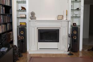 Demi-Classic Fireplace Surrounds - DK 136 B