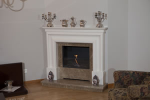 Demi-Classic Fireplace Surrounds - DK 137 A