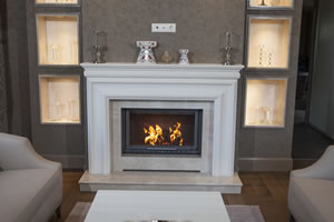 Demi-Classic Fireplace Surrounds - DK 149 A