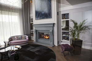 Demi-Classic Fireplace Surrounds - DK 153 A