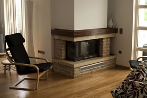 L-Type Fireplace Surrounds - L 122 B
