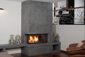 L-Type Fireplace Surrounds - L 124 A